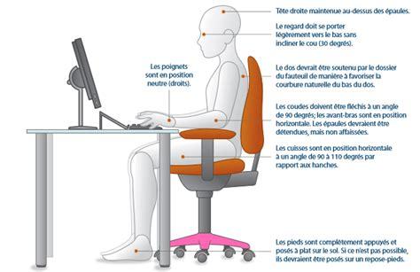 posture bureau le d 39 une télésecrétaire ergonomie au bureau