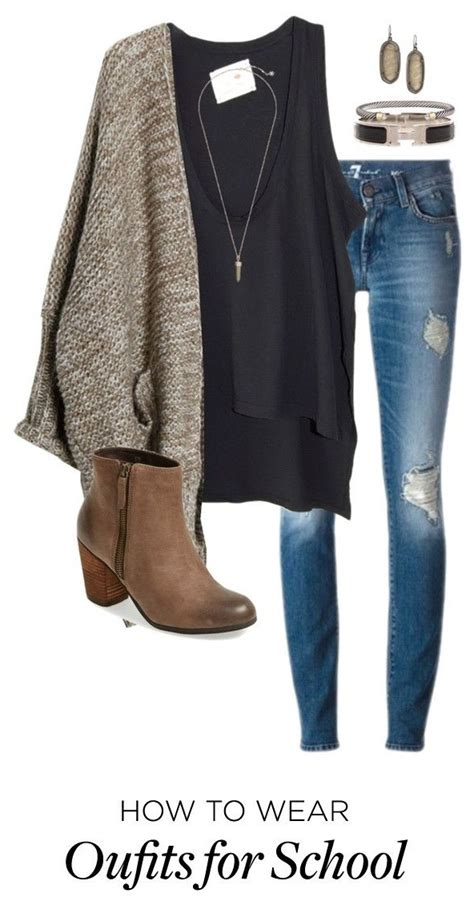 7 school outfits for winter - myschooloutfits.com