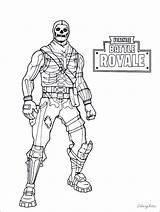 Fortnite Coloring Pages Battle Royale Drift Raven Cool King Ice Skins Printable Sheets Bomber Brite Colouring Skull Night Characters Carbide sketch template