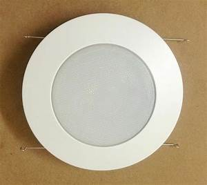 6 U0026quot  Inch Recessed Can Light Shower Trim Frosted Glass