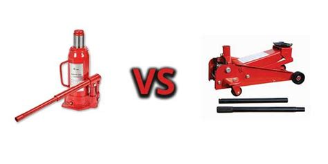 Bottle Jack Vs Floor Jack- What Are The Differences?