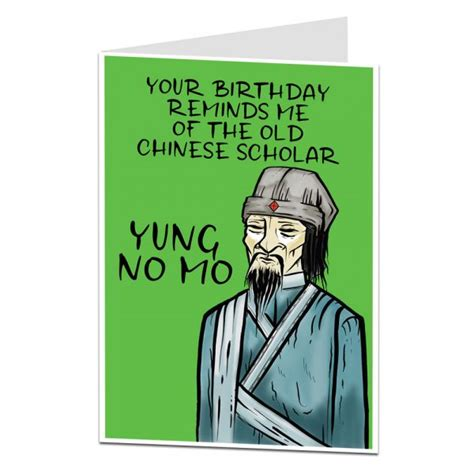 funny birthday card yung  mo limalima trade