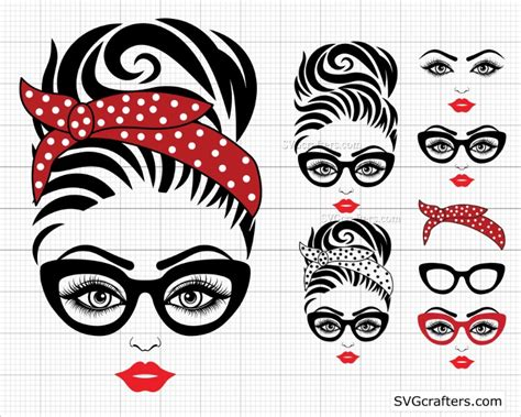 Find free silhouette vectors for your commercial and personal projects. Bundle Messy bun svg, Messy bun with glasses svg, momlife svg