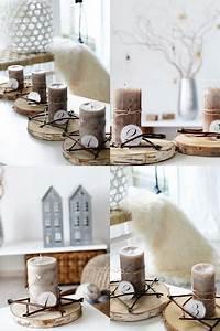Kränze Binden Aus ästen : diy adventskranz advent advent baumscheiben binden ~ Lizthompson.info Haus und Dekorationen