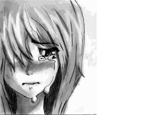 Anime Wallpaper Easy To Draw by Sad Anime Pictures Depressed Anime
