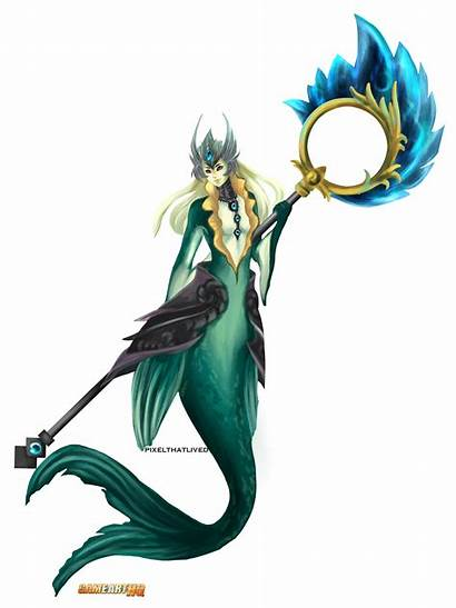 Nami Legends League Character Tidecaller Lol Hq