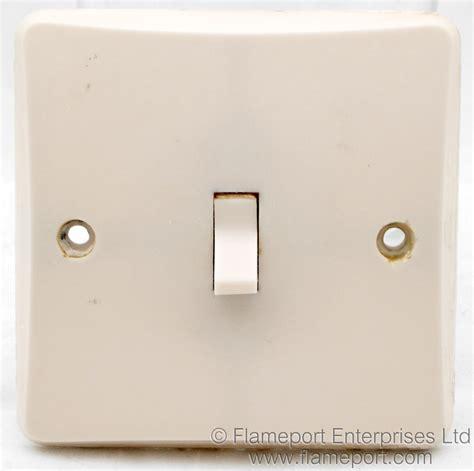 One Way Plastic Light Switch