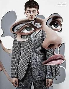 Provocative Puzzle Pictorials  Damien Blottiu00e8re for VMAN Decade