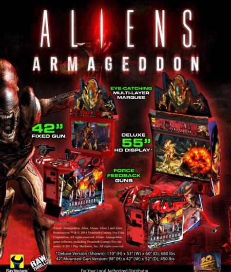 buy aliens armageddon arcade