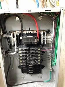 Schematic 100 Amp Breaker Box