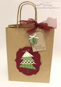 Christmas Gift Bag by LorriHeiling at Splitcoaststampers