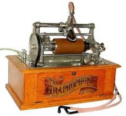 Image result for Chichester Bell and Charles S. Tainter applied for a patent for the gramophone.
