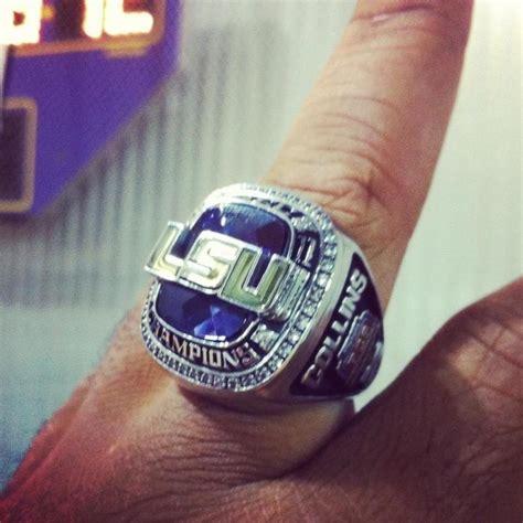 lsu sec championship rings  remind tigers