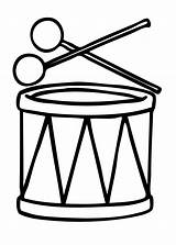 Drum Coloring Pages sketch template