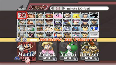Super Smash Bros 10 Secret Mconnus Adg