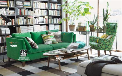 green sofa living room ikea 2014 catalog
