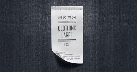 plastic drop cloth psd clothing label mockup miscellaneous pixeden