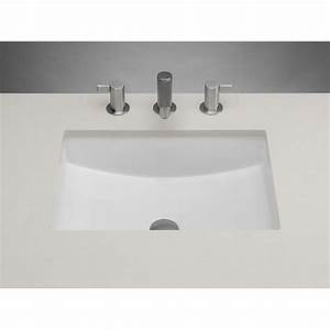 Ronbow 200520 wh at jack london kitchen and bath serving for Decorative undermount bathroom sinks