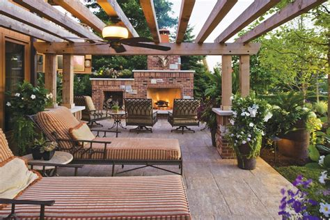 Outdoors Patio : Outdoor Patio Fireplace Designs Flauminc.com
