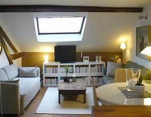 Mini Apartment Einrichten : dachwohnung einrichten 35 inspirirende ideen ~ Markanthonyermac.com Haus und Dekorationen