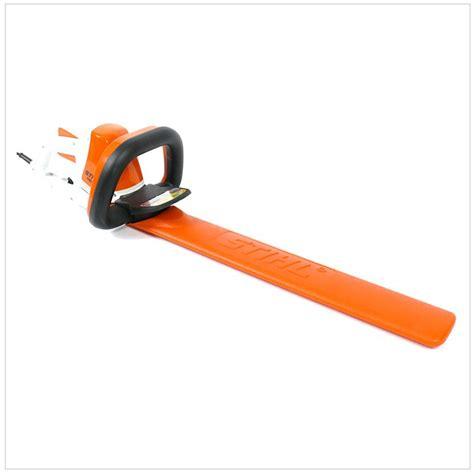 elektro heckenschere stihl stihl hse 52 460 watt elektro heckenschere 48180113501 50 cm schnittl 228 nge ebay