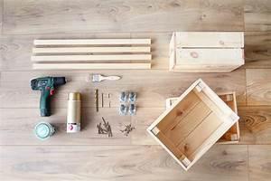 Ikea Caisse Bois : diy une desserte avec des caisses en bois ik a ~ Melissatoandfro.com Idées de Décoration