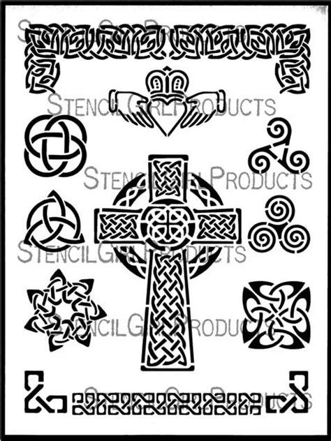 Celtic Celebration Stencil | June Pfaff Daley