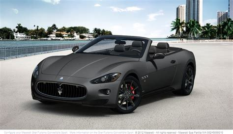 custom maserati interior maserati granturismo convertible sport with custom