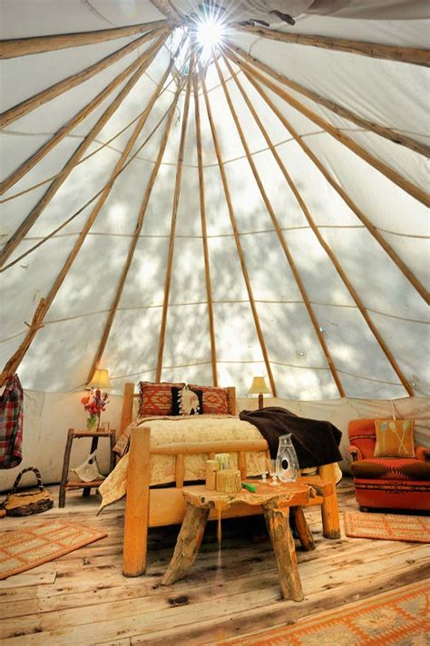 tune   place  teepees