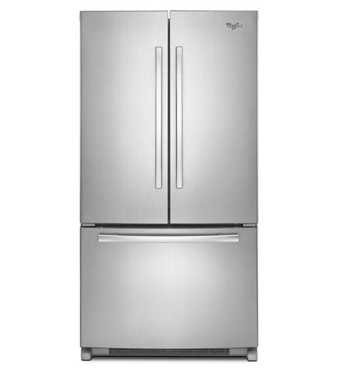 whirlpool gxfhdxvy   gold series french door refrigerator   cu ft capacity