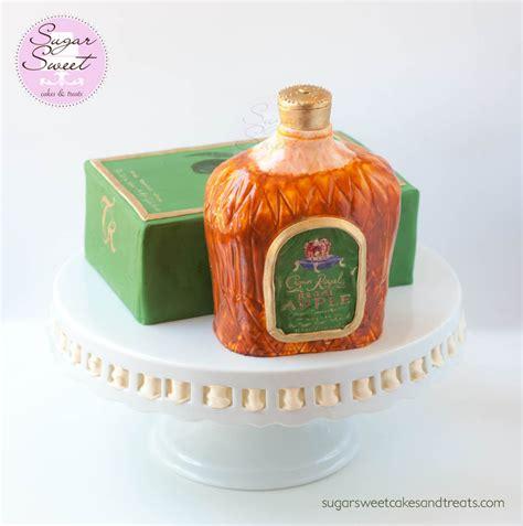 regal apple crown royal bottle cake cakecentralcom
