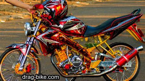 Modifikasi Vixion Pelek Jari Jari by 51 Foto Gambar Modifikasi Motor Vixion Keren Terbaik