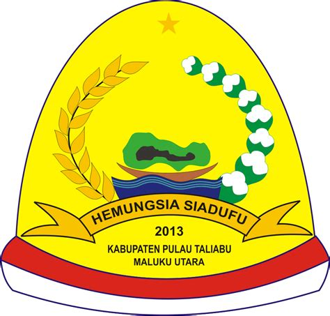 logo vector kabupaten pulau taliabu maluku utara ardi