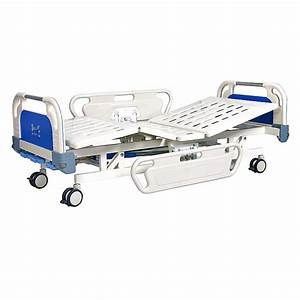 High Quality Cheap 3 Crank Manual Medical Bed With Abs