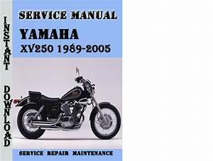Yamaha Xv250 1989