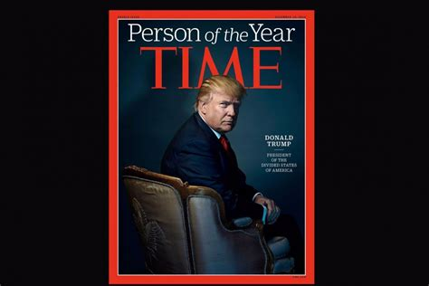 Time Magazine Names President-Elect Donald Trump Person of ...