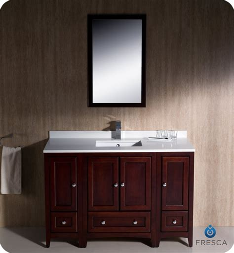 Menards Bathroom Vanities 48 by Fresca Fvn20 122412mh Oxford 48 Quot Traditional Bathroom