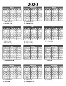 printable  excel calendar templates calendarlabs