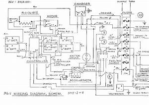 Club Car Golf Cart Wiring Diagram 48 Volt  Golf Cart  Golf