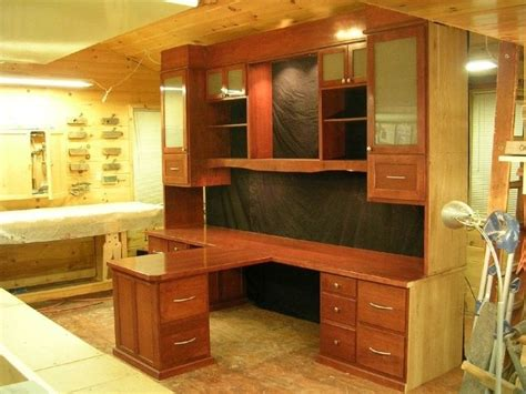 hand  custom hisher office desk  larue woodworking