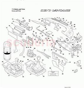 Aston Martin Db7 Vantage Facia And Trim Parts
