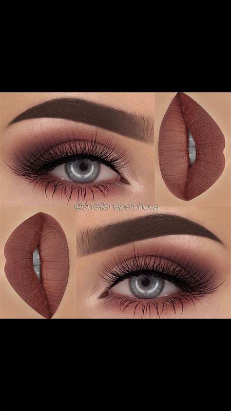 soft maroon smokey eye makeup pinterest eye makeup