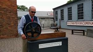 Replica Of Henry Ford U0026 39 S First Internal Combustion Engine