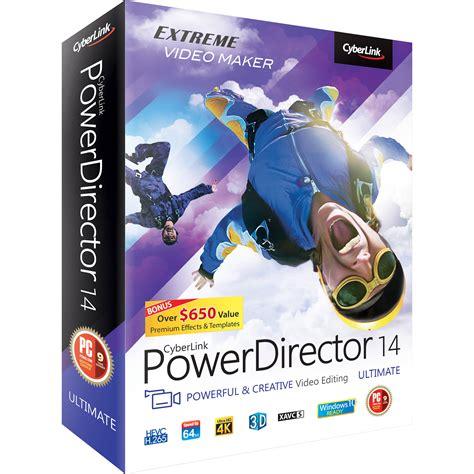 cyberlink powerdirector  ultimate pdr ee rpm  bh photo