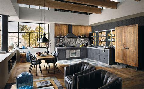 cucina componibile stile moderno industrial marchi cucine