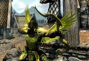 Game Mods The Elder Scrolls V Skyrim Gold Armor HD