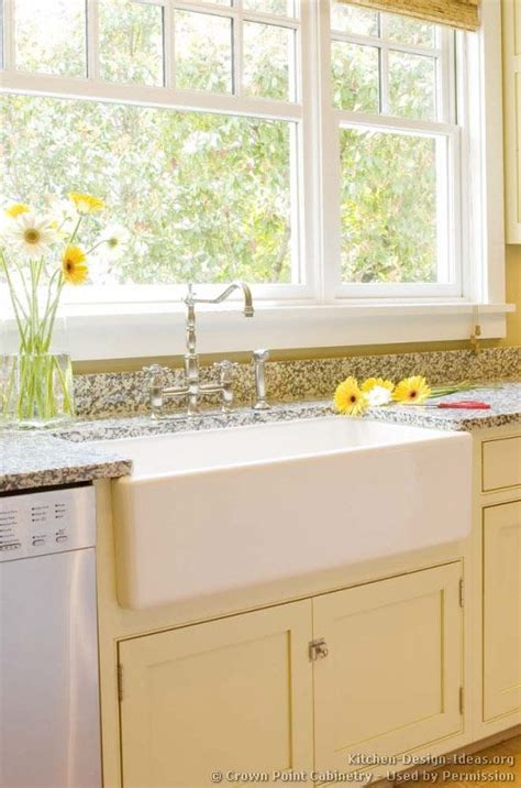 farmhouse sink cabinet ideas cottage kitchens sinks and cottages on pinterest