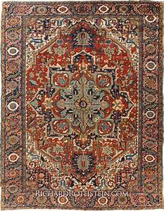 Antique heriz oriental carpet c56d055 for High resolution carpet images