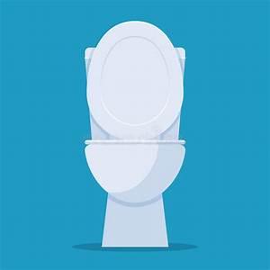 Open toilet bowl stock vector. Illustration of indoor ...