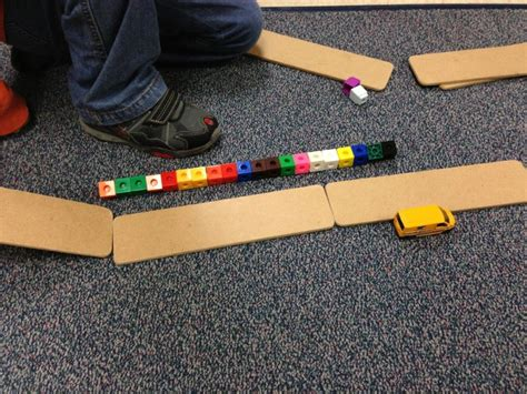 Exploring Force And Motion By Building Ramps The Kids